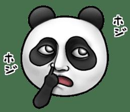 Cute panda!! sticker #7240748