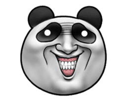 Cute panda!! sticker #7240751