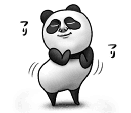 Cute panda!! sticker #7240754