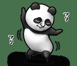 Cute panda!! sticker #7240755