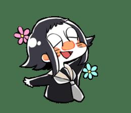 Petit schoolgirl~fujimi~ sticker #7245737