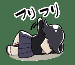 Petit schoolgirl~fujimi~ sticker #7245742
