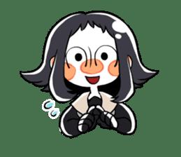 Petit schoolgirl~fujimi~ sticker #7245745