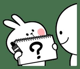 Spoiled Rabbit 2 sticker #7246714