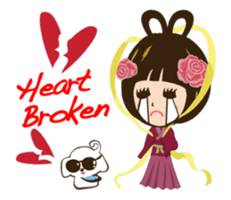 Super Beauty QQ idol Vol.2 sticker #7247425