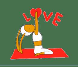Yoga rocks sticker #7252516
