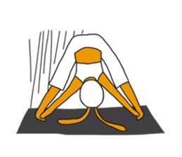 Yoga rocks sticker #7252521