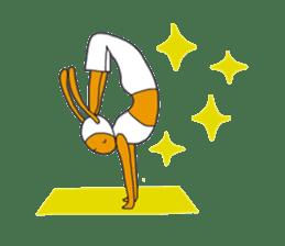 Yoga rocks sticker #7252522