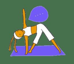 Yoga rocks sticker #7252524