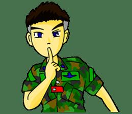 Cadet's sticker #7261382