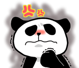 Panda and Korean sticker #7261667