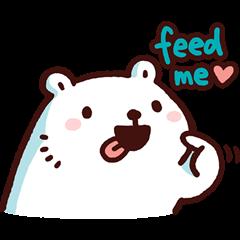 หมีขาวแบค แบค 5: กินอะไรดี?