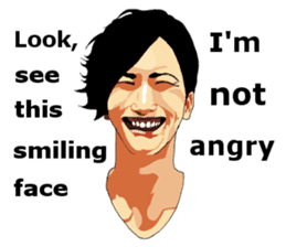 The Memorable Faces for English users sticker #7263917