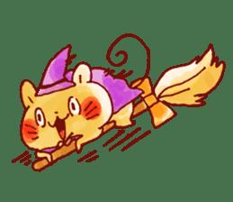 halloween HOWA HOWA animal sticker #7264978