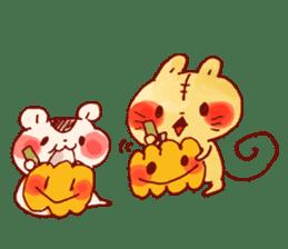 halloween HOWA HOWA animal sticker #7264982