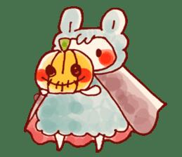 halloween HOWA HOWA animal sticker #7264983