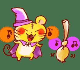 halloween HOWA HOWA animal sticker #7264984