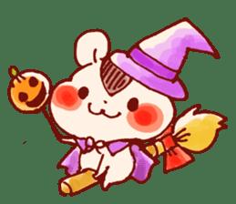 halloween HOWA HOWA animal sticker #7264985