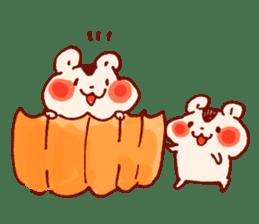 halloween HOWA HOWA animal sticker #7265004