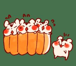 halloween HOWA HOWA animal sticker #7265006