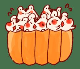 halloween HOWA HOWA animal sticker #7265007