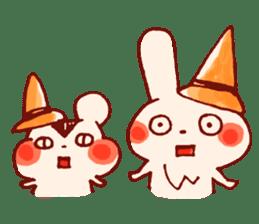 halloween HOWA HOWA animal sticker #7265014