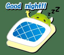 Little monster Morris (English) sticker #7266732