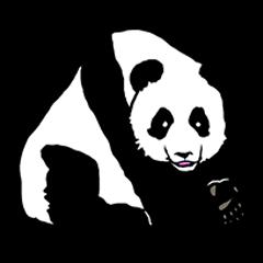 The wild animals sticker ENGLISH Ver.