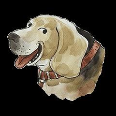 Croissant dog