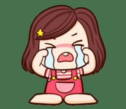 TuaGom : Choompoo pink [Eng] sticker #7278898