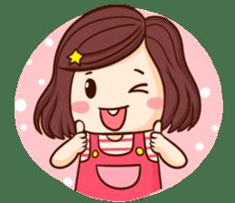 TuaGom : Choompoo pink [Eng] sticker #7278902