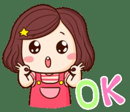 TuaGom : Choompoo pink [Eng] sticker #7278903