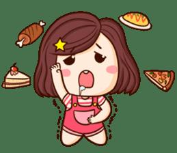 TuaGom : Choompoo pink [Eng] sticker #7278918