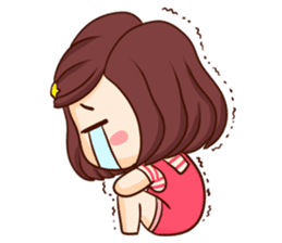TuaGom : Choompoo pink [Eng] sticker #7278924