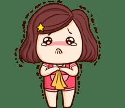 TuaGom : Choompoo pink [Eng] sticker #7278925