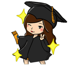 College Girl Life sticker #7280935