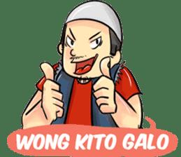 Wong Kito sticker #7286496