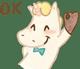 Unicorn MaNi's Daily sticker #7291048