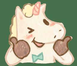 Unicorn MaNi's Daily sticker #7291049