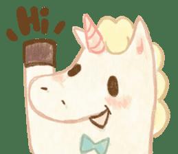 Unicorn MaNi's Daily sticker #7291050