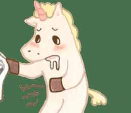 Unicorn MaNi's Daily sticker #7291056