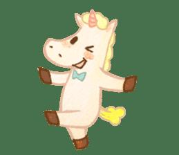 Unicorn MaNi's Daily sticker #7291060