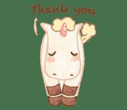 Unicorn MaNi's Daily sticker #7291063