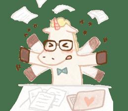 Unicorn MaNi's Daily sticker #7291065