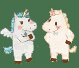 Unicorn MaNi's Daily sticker #7291070