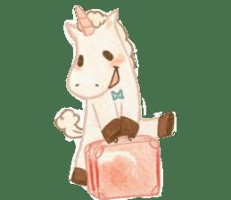 Unicorn MaNi's Daily sticker #7291072