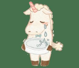Unicorn MaNi's Daily sticker #7291074