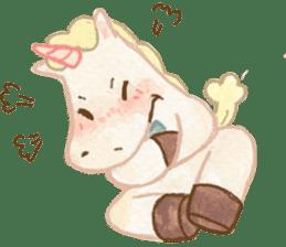 Unicorn MaNi's Daily sticker #7291075