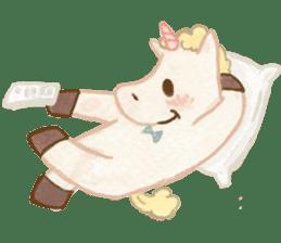 Unicorn MaNi's Daily sticker #7291076