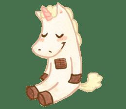 Unicorn MaNi's Daily sticker #7291078